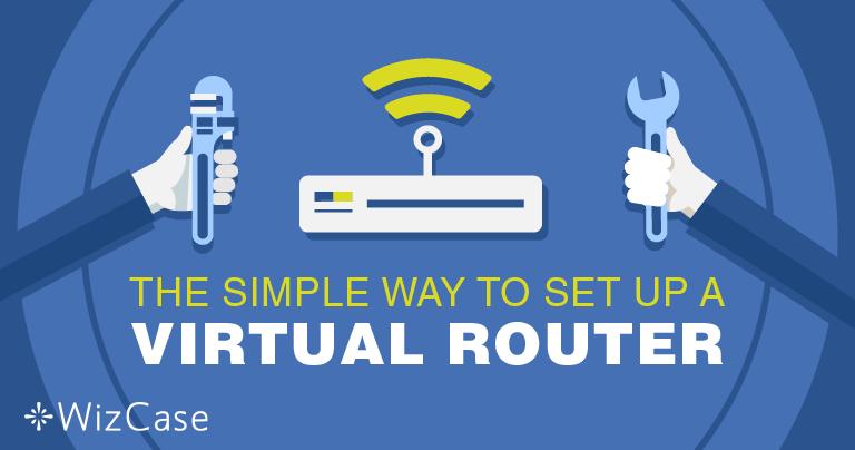 Cómo configurar un rúter virtual en Windows con una VPN