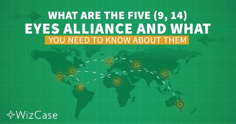 ¡Comprende la Alianza de los Cinco, Nueve y 14 Ojos antes de elegir cualquier VPN!