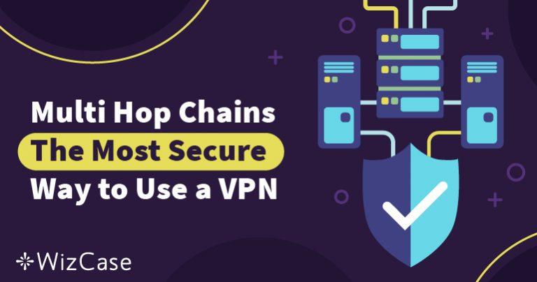 Cadenas de múltiples saltos (Multi-Hop)– La forma más segura de usar una VPN Wizcase