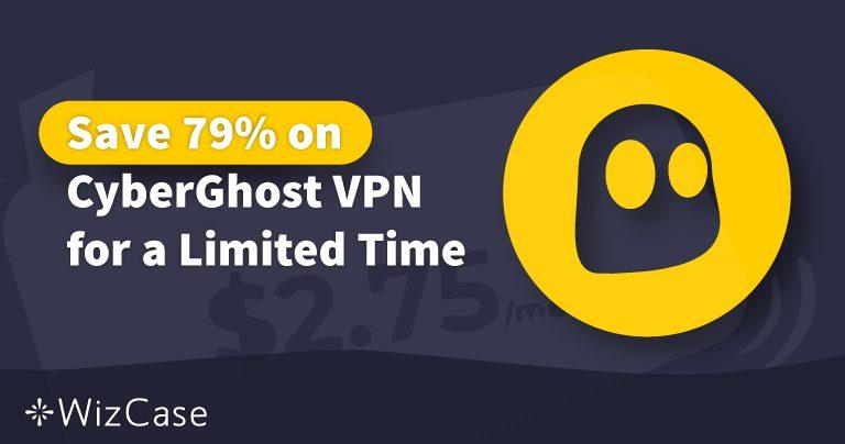 Cupón de CyberGhost VPN válido en 2021: ahorra hasta un 83% hoy